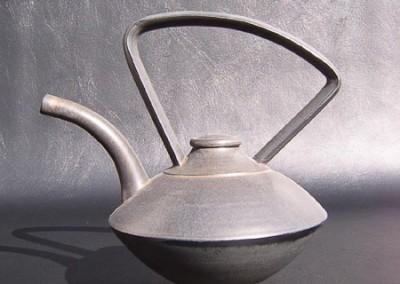 Saucer Teapot