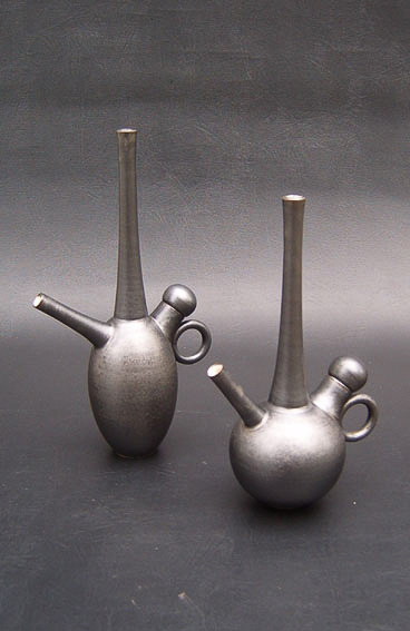 Tear Drop Teapots